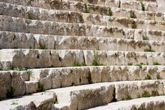 Steps at an amphitheatre Stock Photos