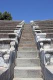 Steps of Ancient Pergamon Stock Photos