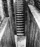 Steps. At an ancient temple Royalty Free Stock Images