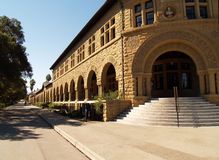 Steps and arches Exterior building college campus Stock Images