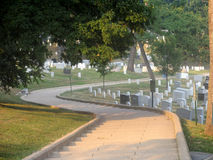 Steps at Arlington Cemetery Stock Image