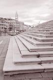 Steps of Basilica di Santa Maria della Salute Church, Venice Royalty Free Stock Photography
