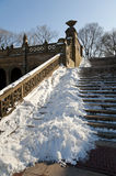 Steps at Bethesda Terrace Stock Photos