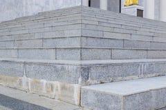 Steps and a brick wall Royalty Free Stock Photo
