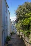 Steps Brixham Torbay Devon Endland UK Royalty Free Stock Photography