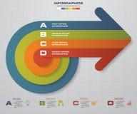4 steps business presentation template.Arrow shape banners template. Vector. 4 steps business presentation template.Arrow shape banners template/graphic or Stock Illustration