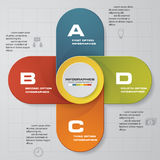 4 steps chart template/graphic or website layout. 4 steps Infographic report template layout. Vector illustration EPS 10 stock illustration