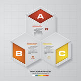 3 Steps chart template. Vector. 3 Steps chart template/graphic or website layout. Vector royalty free illustration