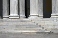 Steps and columns Royalty Free Stock Photos