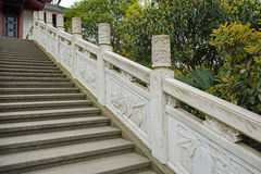 Steps and embossed balustrade,Chengdu,China Royalty Free Stock Images