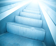 Steps of escalator Royalty Free Stock Images