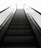 Steps of escalator Stock Images