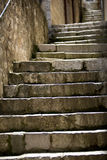 Steps fading into the distance Royalty Free Stock Image