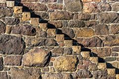 Free Steps In A Wall Stock Photo - 161978520