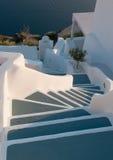 Steps In Santorini, Greece Stock Image