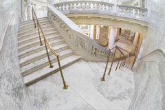 Steps inside the boise capital. Steps leading from one floor to the next in the boise Capital building Royalty Free Stock Photography