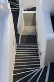 Steps on the island of Santorini Greece Royalty Free Stock Photos