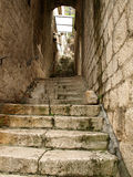 Steps in Kotor Royalty Free Stock Photos