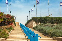 Steps leading to heaven Royalty Free Stock Photography