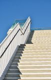 Steps. Leading to a public viewing platform Stock Photo