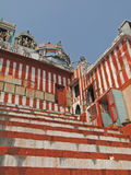 Steps leading up to  Shiva Temple Stock Photography