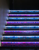 Steps and Lights Royalty Free Stock Photography