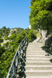 The steps of the mountain Royalty Free Stock Photos