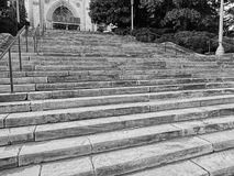Steps of the National Cathedral Stock Image