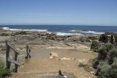 Steps near the Old Water Wheel  Augusta Western Australia Royalty Free Stock Image