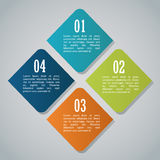 Steps options and infographic design Royalty Free Stock Photo
