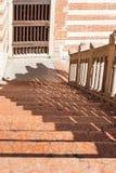 Steps in Palazzo della Ragione in Verona city Royalty Free Stock Photo