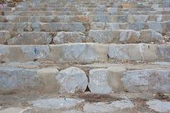 Steps in park. Rock steps in natural park Stock Images