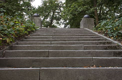Steps in park Stock Images