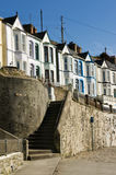 Steps, Porthleven. Stepsto Bay View Terrace, Porthleven, Cornwall Royalty Free Stock Photography