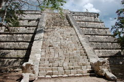 Steps of Pyramide. In Mexico Stock Image