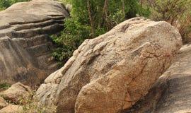 Steps on rocks landscape Stock Images