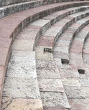 Steps of Roman Arena di Verona in Italy Stock Photos
