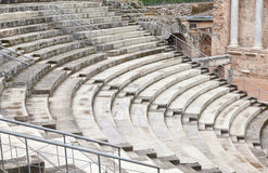 Steps of a Roman circus Stock Image