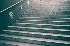 Steps on a staircase Royalty Free Stock Images