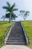 Steps Staircase Hillside Royalty Free Stock Photo