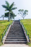Steps Staircase Hillside Stock Photography