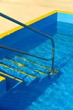 Steps into a swimming pool Royalty Free Stock Photos