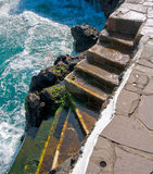 Steps in Tenerife Royalty Free Stock Images