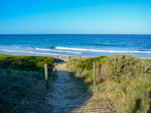 Steps to the beach Royalty Free Stock Photo