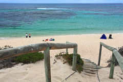 Steps to beach,Western Australia Stock Photography