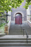 Steps to Entrance of Church. Royalty Free Stock Photo