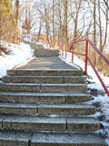 Steps to Hill Stock Photo