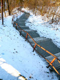Steps to Hill Royalty Free Stock Photo