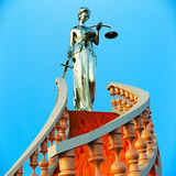 Steps  to justice Royalty Free Stock Image