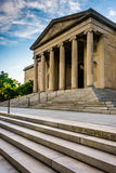 Steps to the Museum of Art in Baltimore, Maryland. Stock Photo